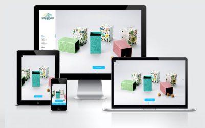 响应式包装设计行业网站建设案例